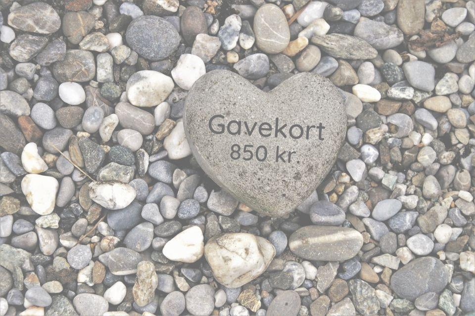 Gavekort 850 kr.